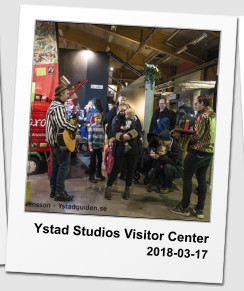 Ystad Studios Visitor Center 2018-03-17